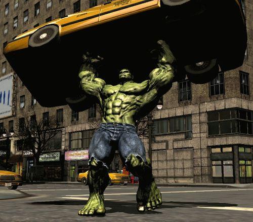 Hulk-scrap-car