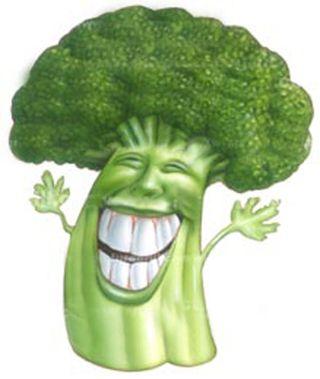 Happy broccoli