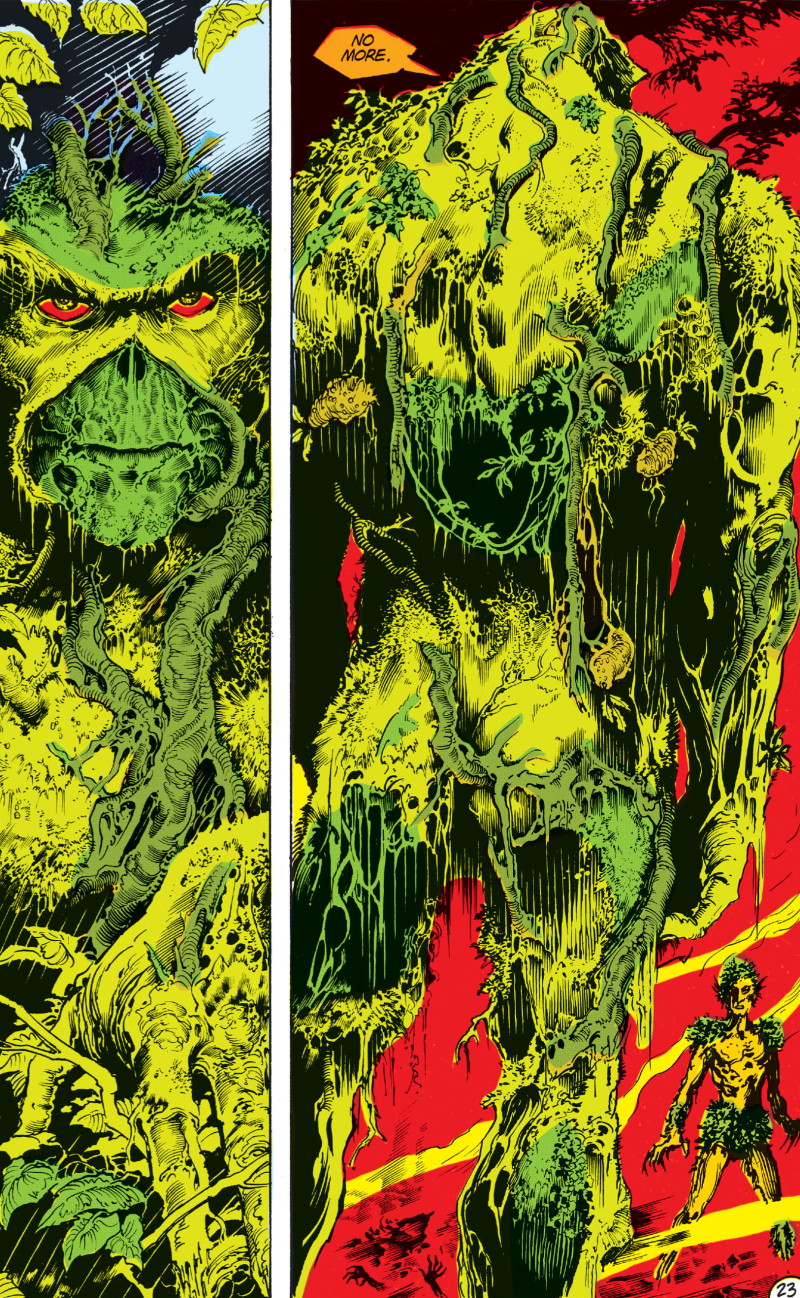 Swamp Thing:Peterson Motto