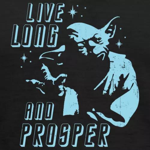 Yoda-spock-star-trek-star-wars-quote-womens-long-sleeve-v-neck-flowy-tee